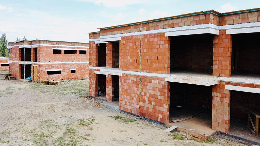 Domy ve Staré Boleslavi - výstavba
